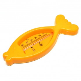 Sensor Thermometer Cute Floating Fish - Orange