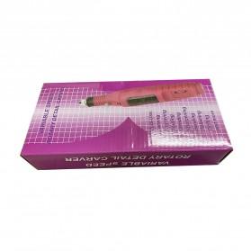 Biutte.co Electric Nail Manicure Pedicure Device / Alat Perawatan Kuku - JMD-100 - Pink - 9