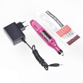 Biutte.co Electric Nail Manicure Pedicure Device / Alat Perawatan Kuku - JMD-100 - Pink - 7