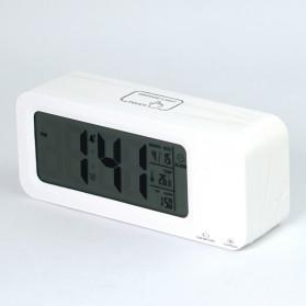 Smart Timepiece Backlight Alarm Clock JP9908 - White - 7