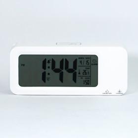 Smart Timepiece Backlight Alarm Clock JP9908 - White - 8