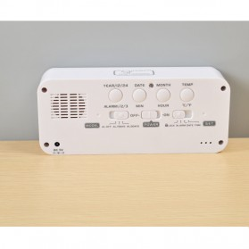 Smart Timepiece Backlight Alarm Clock JP9908 - Green - 3