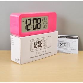 Smart Timepiece Backlight Alarm Clock JP9908 - Green - 4