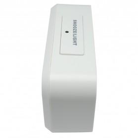 Smart Timepiece Backlight Alarm Clock JP9901-2 / Jam Alarm - White - 3