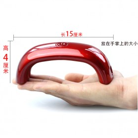 DAYFULI Mini LED Nail Lamp  / Pengering Kutek Kuku - T5T08 - Red - 5