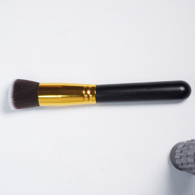 Biutte.co Kuas Make Up Wajah 10 PCS - MAG5167 - Black Gold - 5