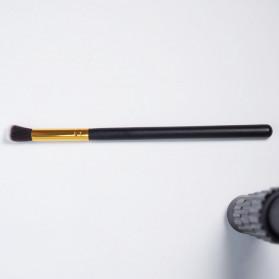 Biutte.co Kuas Make Up Wajah 10 PCS - MAG5167 - Black Gold - 6