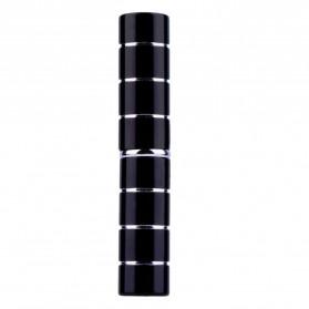 Kuas Make Up Blush On Retractable Brush - Black - 2