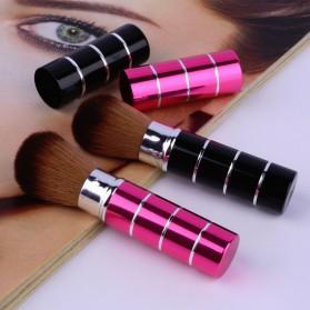 Kuas Make Up Blush On Retractable Brush - Black - 9