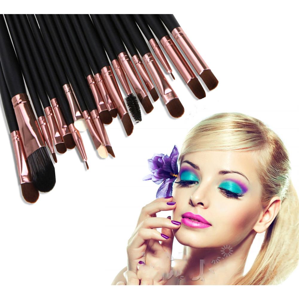 Make Up Brush Set 20 Pc Kuas Isi High Quality Soft Makeup Jbs New York 24 Pcs K 001 K048 Uk Professional Cosmetic Black Brown 8