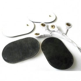 Alat Pijat Elektrik Slimming Body Electrode Health Care - Y-1018 - Silver - 7