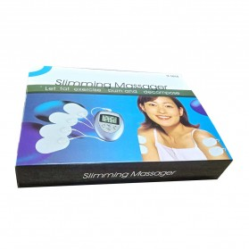 Alat Pijat Elektrik Slimming Body Electrode Health Care - Y-1018 - Silver - 9