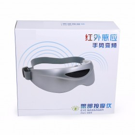 STYLE Alat Pijat Mata Elektrik Rechargeable Eye Massager - ifan-889 - White - 8