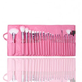 BIUTTE.CO Brush Make Up 22 Set dengan Pouch - MAG5169 - Pink