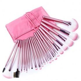 BIUTTE.CO Brush Make Up 22 Set dengan Pouch - MAG5169 - Pink - 2