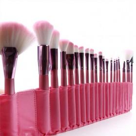 BIUTTE.CO Brush Make Up 22 Set dengan Pouch - MAG5169 - Pink - 3