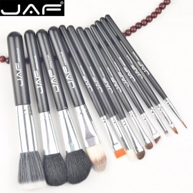 JAF Kuas Make Up 12 Set dengan Case - Black - 3