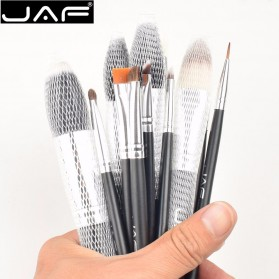 JAF Kuas Make Up 12 Set dengan Case - Black - 6