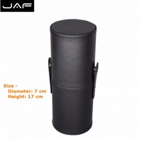 JAF Kuas Make Up 12 Set dengan Case - Black - 7