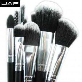 JAF Fan Brush Make Up 10 Set - Black - 2