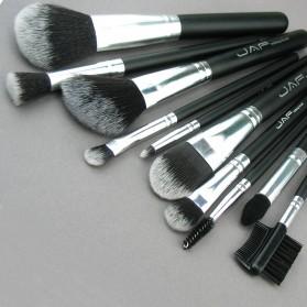 JAF Fan Brush Make Up 10 Set - Black - 6