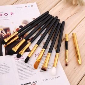 Maquiagem Brush Make Up 15 Set - Black Gold - 3