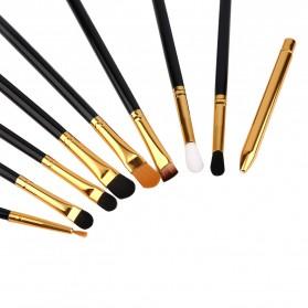 Maquiagem Brush Make Up 15 Set - Black Gold - 5