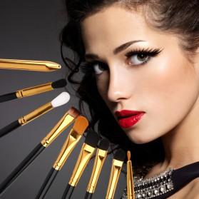Maquiagem Brush Make Up 15 Set - Black Gold - 8