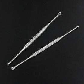 Pembersih Telinga Korek Kuping - HF095 - Silver - 3