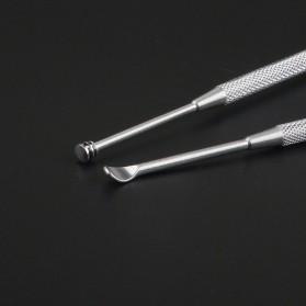 Pembersih Telinga Korek Kuping - HF095 - Silver - 4