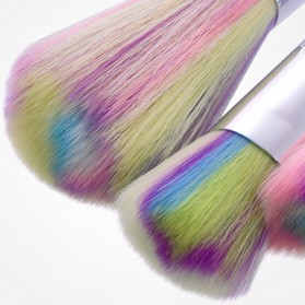 Unicorn Brush Make Up 10 Set - Purple - 4
