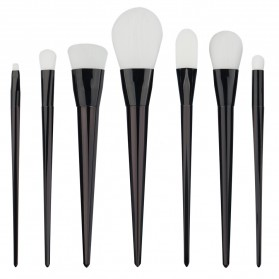 Brush Makeup - Beauty Brush Make Up 7 Set - Black