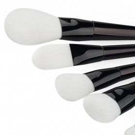 Beauty Brush Make Up 7 Set - Black - 4
