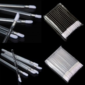 Lip Gloss Lipstick Brush Make Up 5 PCS - Black - 3