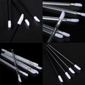 Lip Gloss Lipstick Brush Make Up 5 PCS - Black - 4