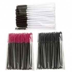 Sisir Bulu Mata Brush Make Up 5 PCS - Black - 3