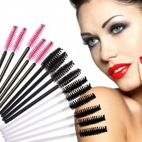 Sisir Bulu Mata Brush Make Up 5 PCS - Black - 7
