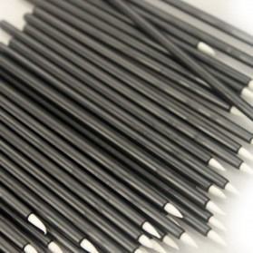 Eyeliner Brush Make Up 5 PCS - Black - 3