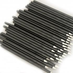 Eyeliner Brush Make Up 5 PCS - Black - 4