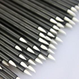 Eyeliner Brush Make Up 5 PCS - Black - 5