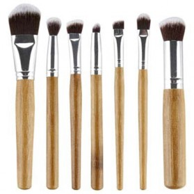 Bamboo Make Up 7 Set - Golden