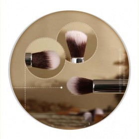 Bamboo Make Up 7 Set - Golden - 3