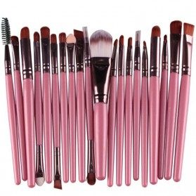 Marble Brush Make Up 20 Set - Pink