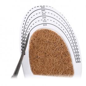 DADIJIER Alas Kaki Sepatu Shock Absorb Gel Coconut Beard Size S - C-727 - Black - 3