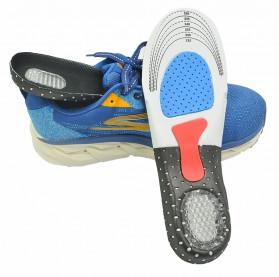 Alas Kaki Sepatu Shock Absorb Gel Orthotic Arch Size L 41-45 - ZYD17 - Gray - 2