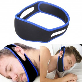 Sabuk Tidur Anti Ngorok Snoring Solution - 5582 - Black/Blue