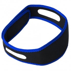 Sabuk Tidur Anti Ngorok Snoring Solution - 5582 - Black/Blue - 2