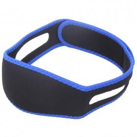 Sabuk Tidur Anti Ngorok Snoring Solution - 5582 - Black/Blue - 3