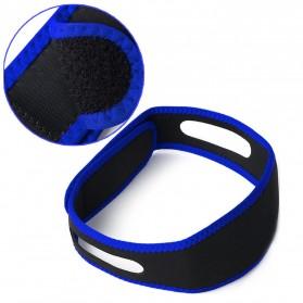Sabuk Tidur Anti Ngorok Snoring Solution - 5582 - Black/Blue - 4