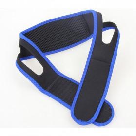 Sabuk Tidur Anti Ngorok Snoring Solution - 5582 - Black/Blue - 6